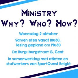 Ministry? Who? Why? How?